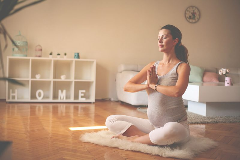 Meditation decreases depression & regulates mood