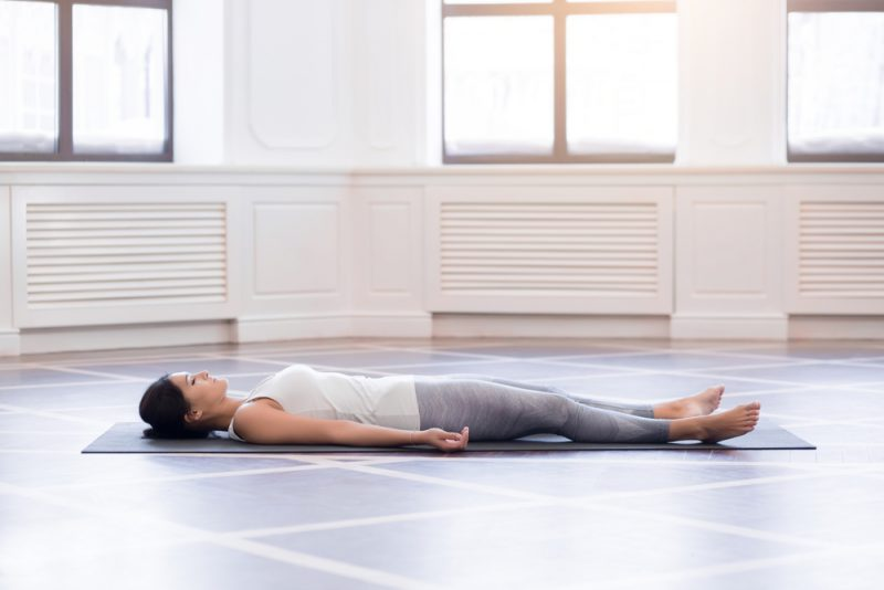 Belly Down Savasana