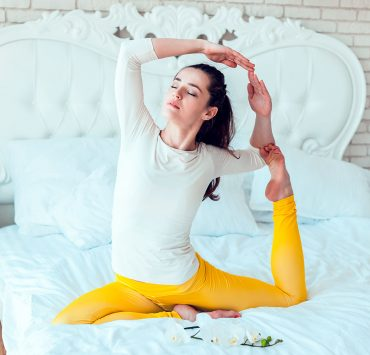 best yoga poses for better sleep for beginners  yoga practice