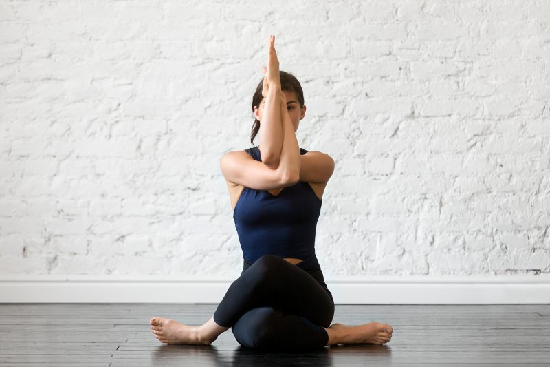 A Yin Yoga Sequence To Balance & Align The Chakras