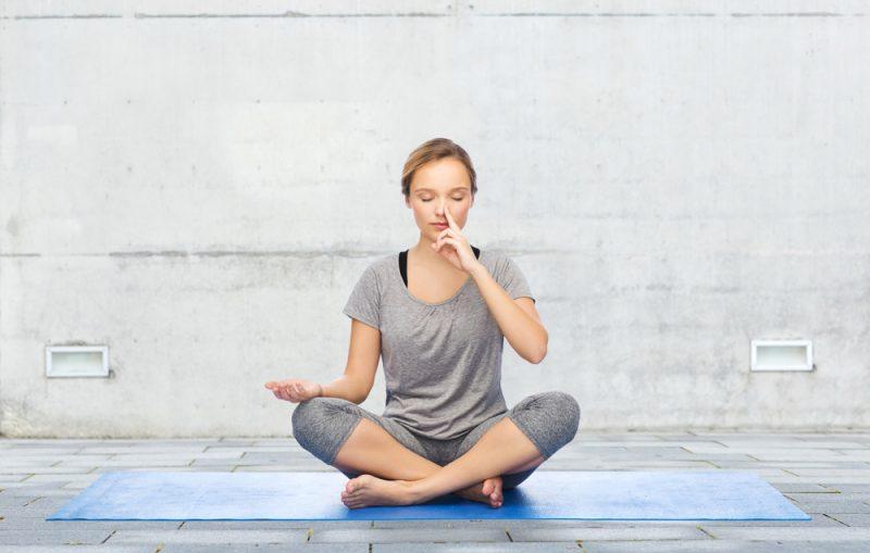 Alternate Nostril Breathing Pranayama