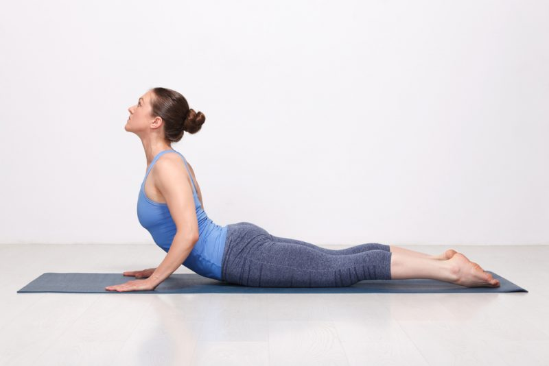Bhujangasana — Cobra Pose Variation