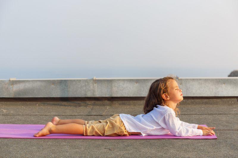Differences in practicing yoga with children and autism