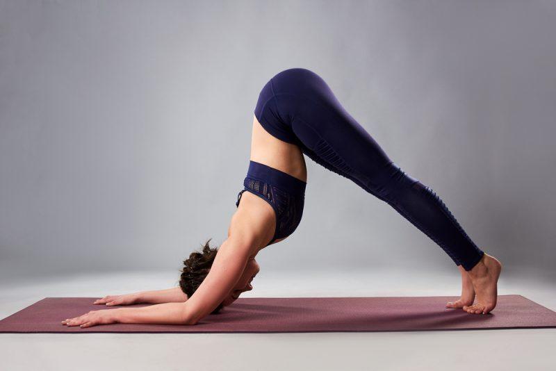 Ardha Pincha Mayurasana — Dolphin Pose