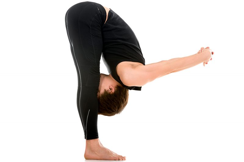 Uttanasana — Forward Fold with Chest Expansion