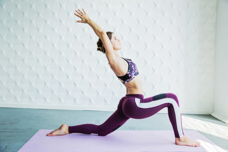 Anjaneyasana — Low Lunge Pose