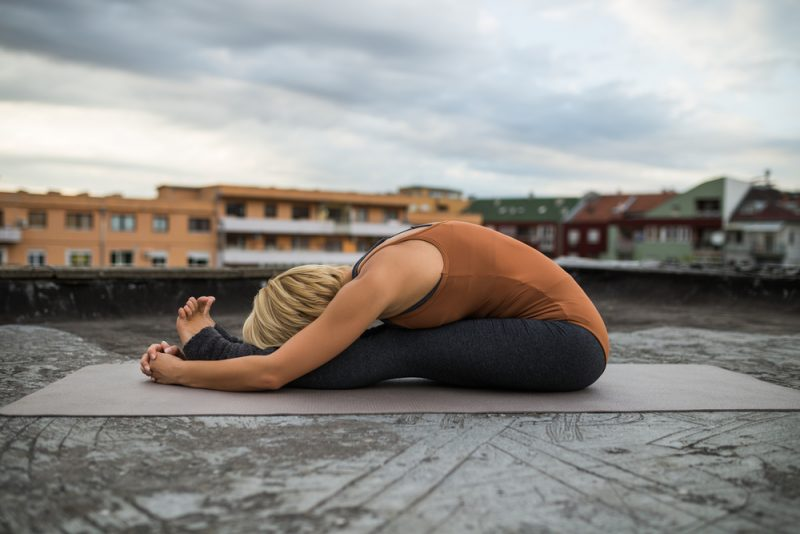 Paschimottanasana – Seated Forward Fold