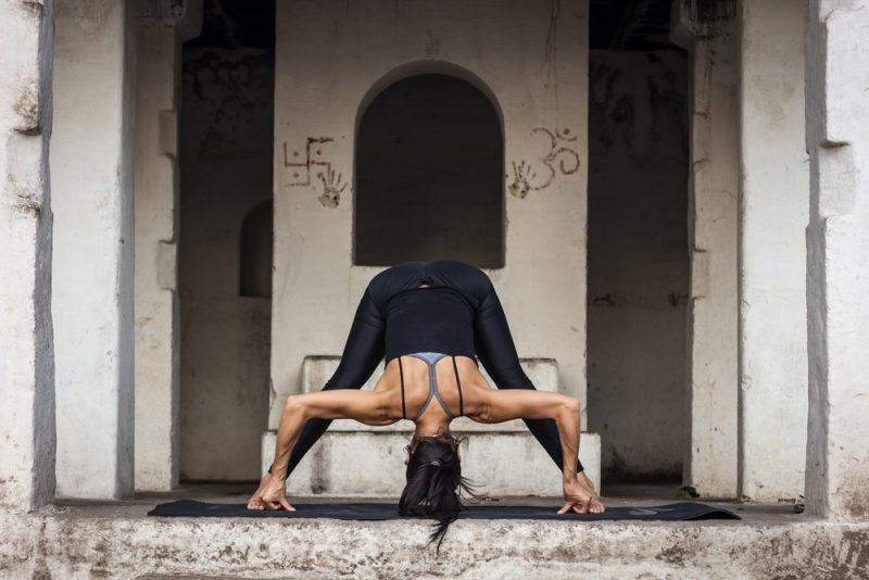 Prasarita Padottanasana — Wide-Legged Forward Bend