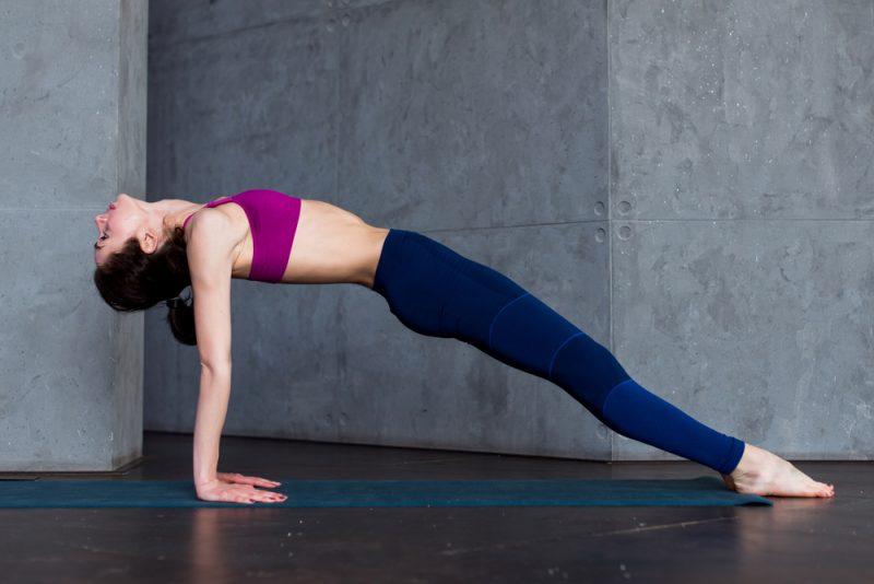 Purvottanasana – Upward Facing Plank