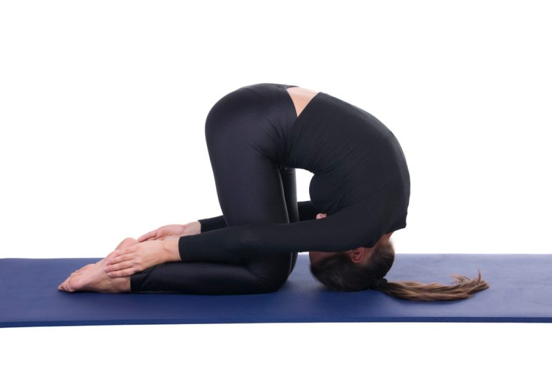 Sasangasana — Rabbit Pose
