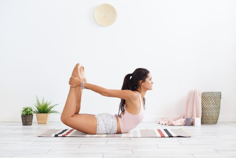 Stretching your back & back support