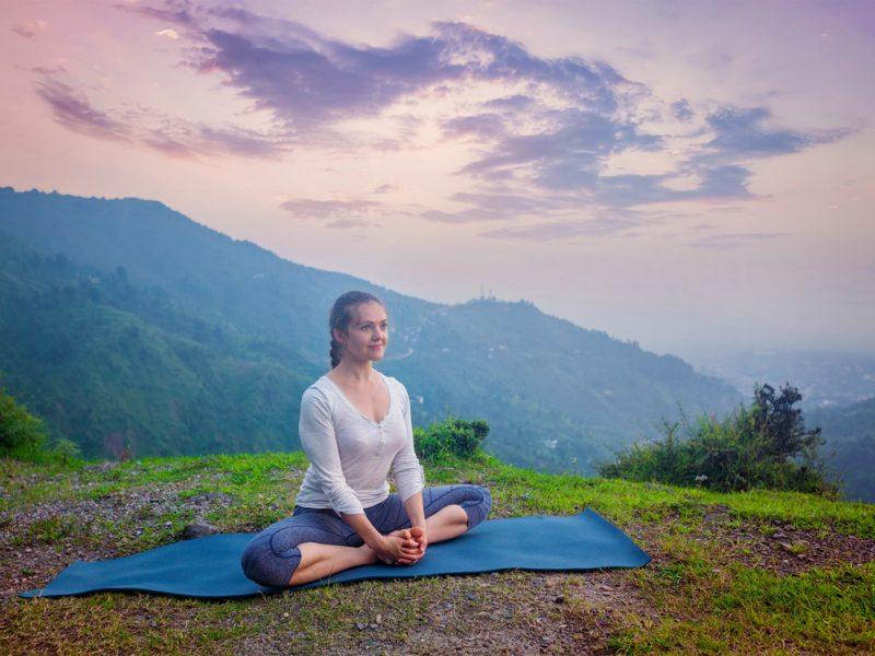 Supta Baddha Konasana — Bound Angle Pose