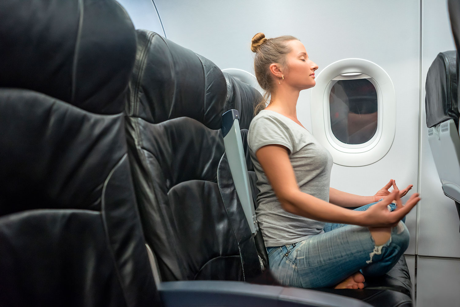 This Yoga Sequence Will Prepare You For Your Next Flight