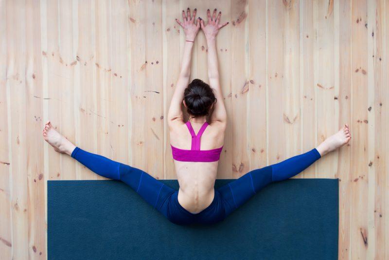 Upavistha Konasana — Seated Wide-Angle Forward Fold Pose