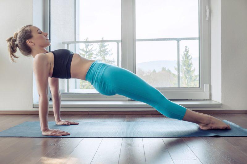 Upward Plank Pose — Purvottanasana
