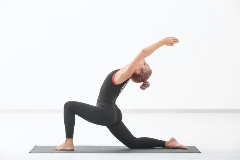 Anjaneyasana — Low Lunge Pose