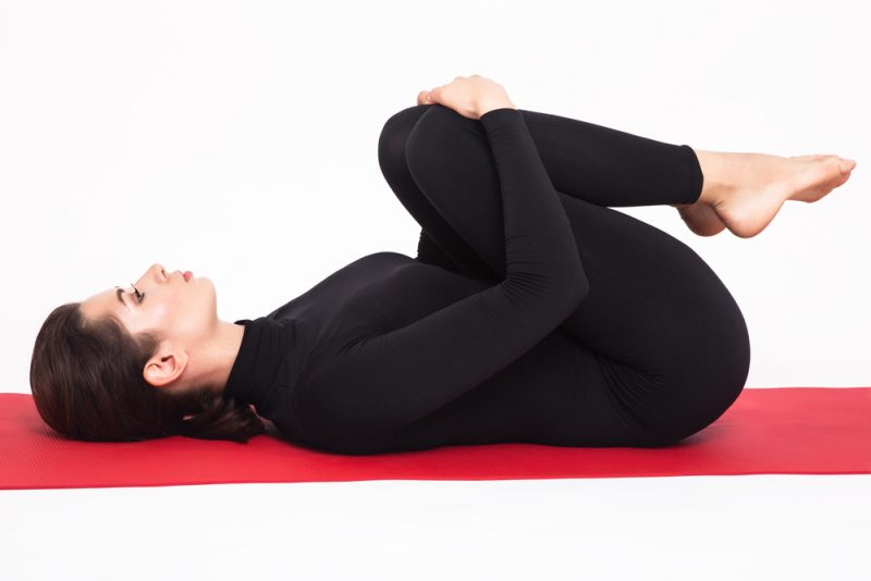 Apanasana — Knees to Chest Pose
