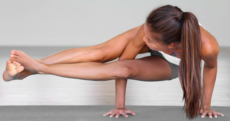 Astavakrasana — Eight Angle Pose