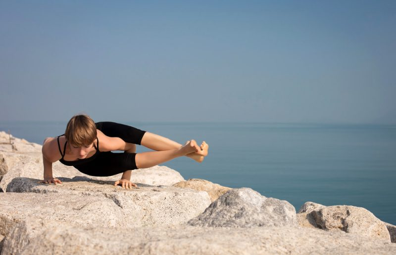 Astavakrasana — Eight-Angle Pose