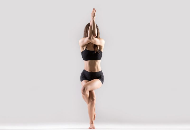 Garudasana — Eagle Pose
