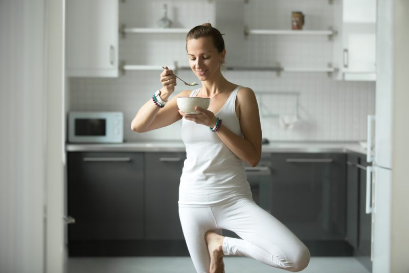How Yoga Inspires People To Change Their Diet