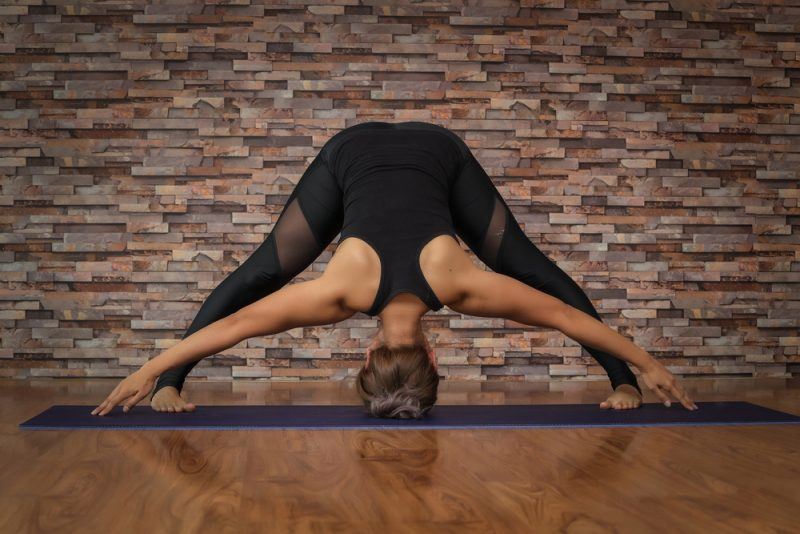 Prasarita Padottanasana — Wide Legged Forward Fold