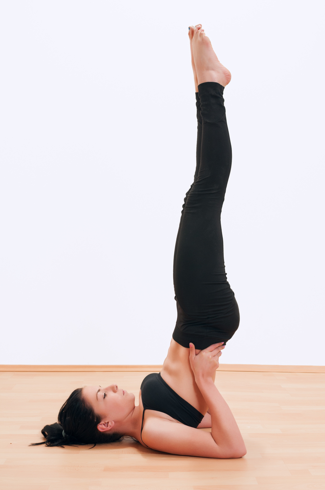 Salamba Sirsasana — Supported Shoulder Stand