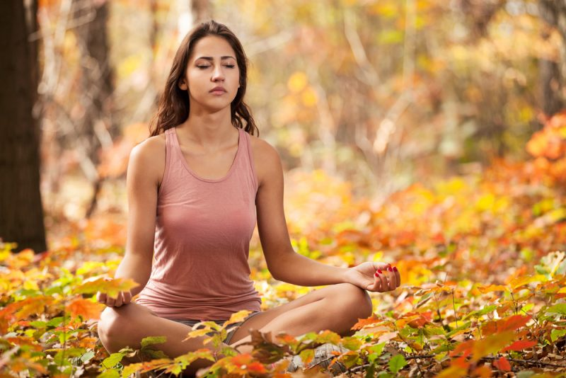 Savasana and Meditation