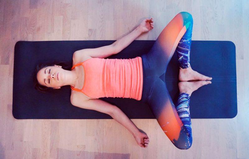 Supta Baddha Konasana — Reclining Bound Angle Pose