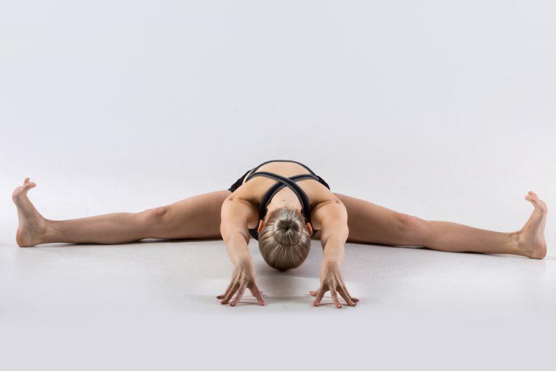 Upavistha Konasana/Straddle Split — Seated Wide-legged Forward Fold Pose