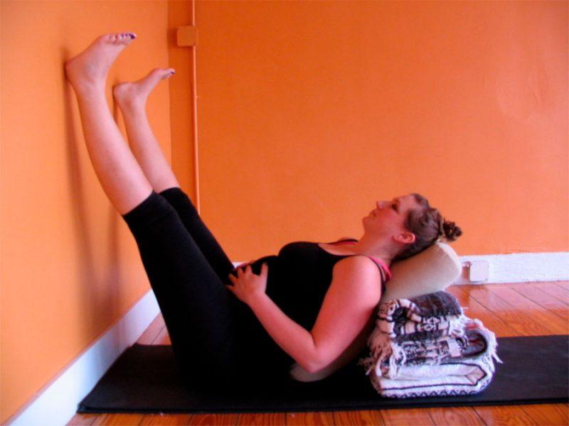 Viparita Karani — Legs Up the Wall Pose