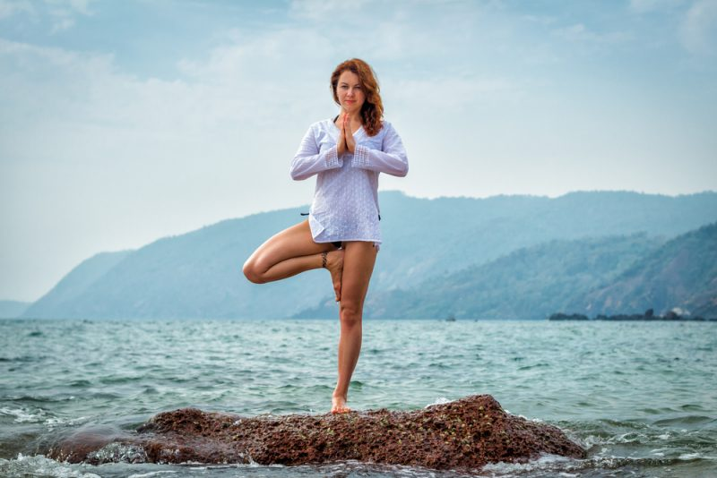 Vrksasana — Tree Pose
