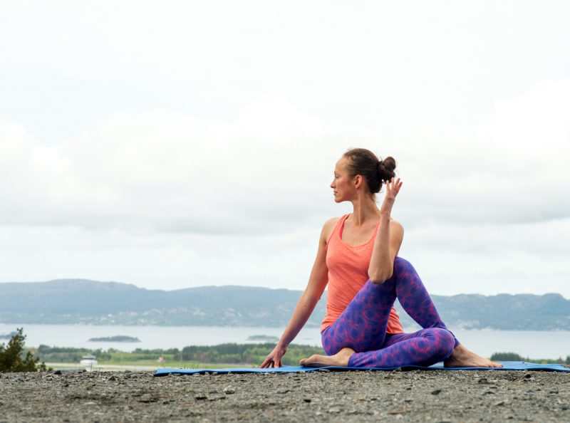 Ardha Matsyendrasana — Seated Twist Pose
