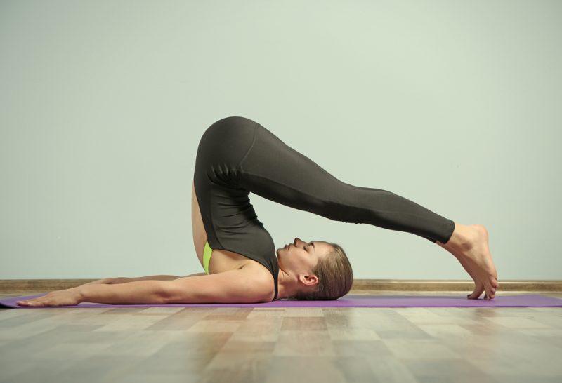 Halasana — Plow Pose