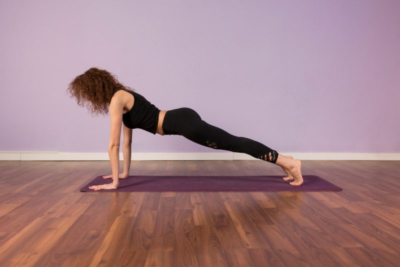 Palakasana — Plank Pose