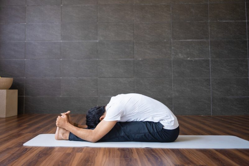 Paschimottanasana — Seated Forward Fold Pose