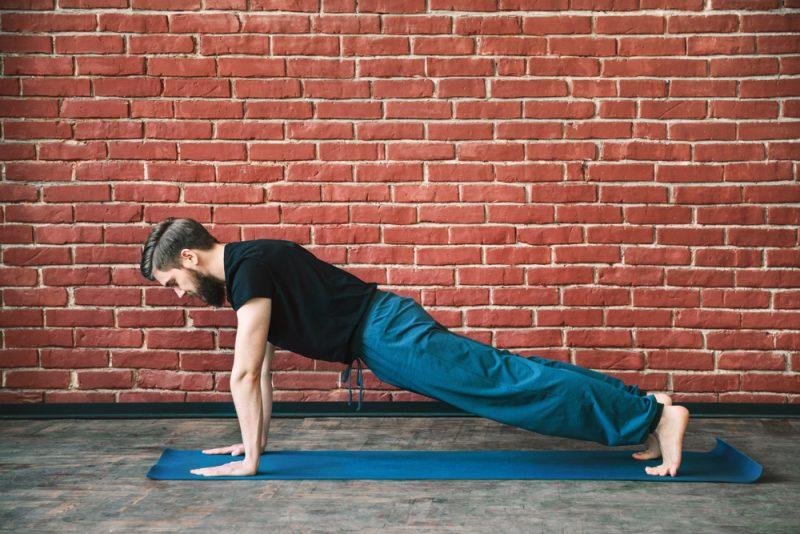Phalakasana — Plank PoseFront Support