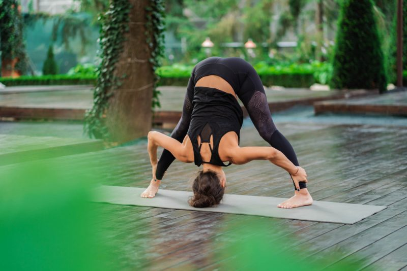 Prasarita Padottanasana I — Wide-Legged Forward Bend Pose