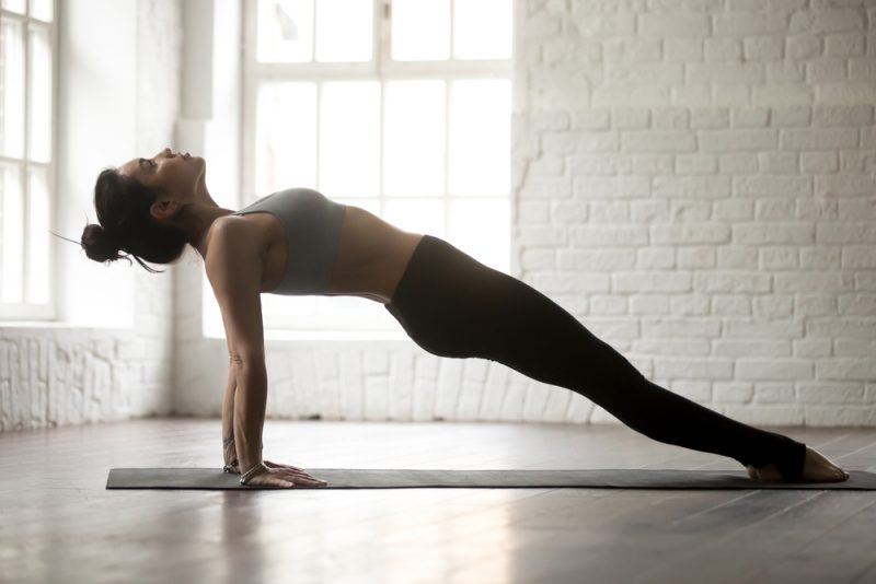 Purvottanasana — Upward Plank Pose