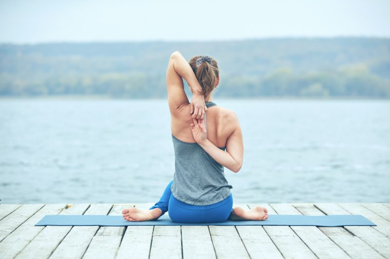 Gomukhasana — Cow Face Pose
