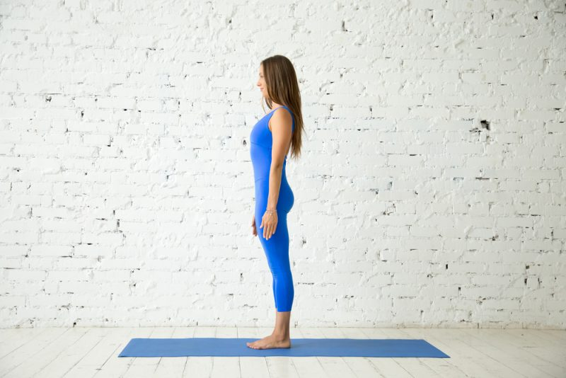 Tadasana — Mountain Pose