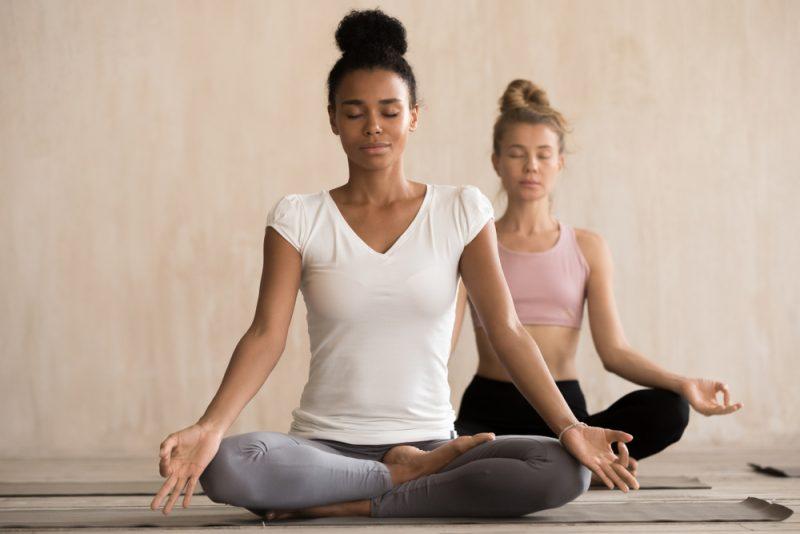 Ardha Padmasana — Half Lotus Pose