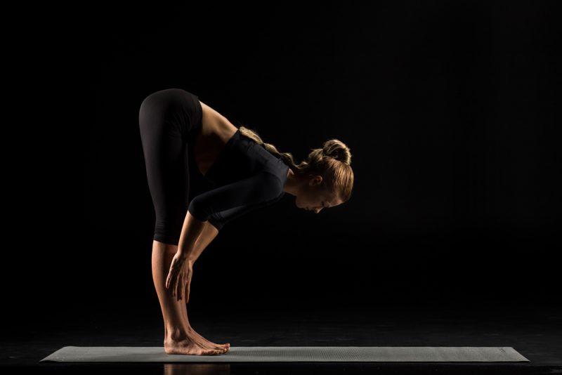 Ardha Uttanasana — Standing Half Forward Bend