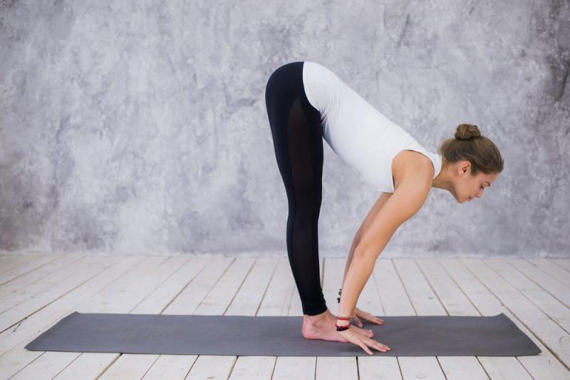 Ardha Uttanasana — Standing Half Forward Fold Pose