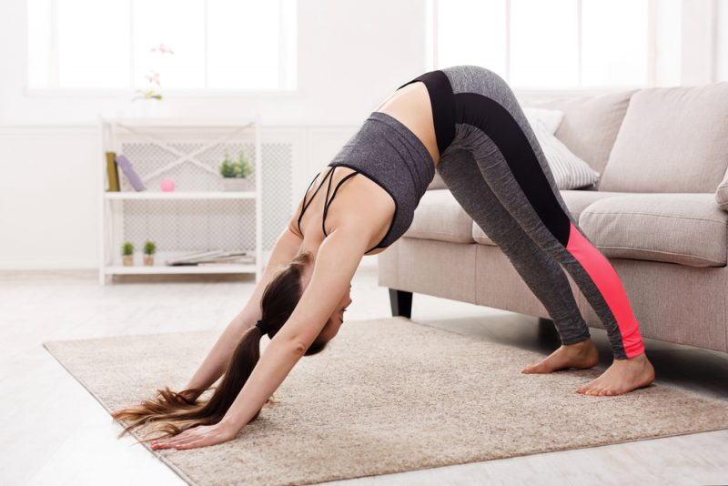 Challenges of a Home Yoga Practice
