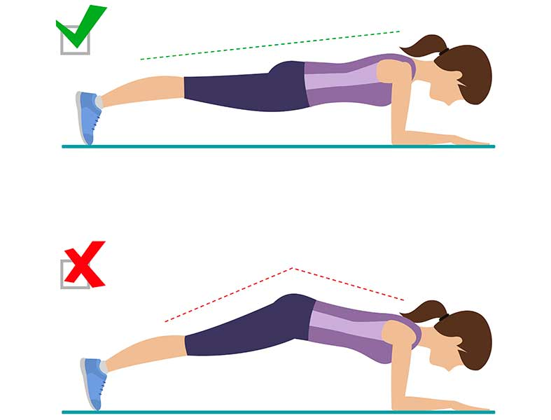 How To Enter Plank Pose (With Correct Form)