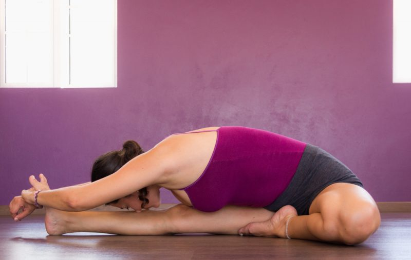 Janu Sirsasana — Head to Knee Forward Bend Pose