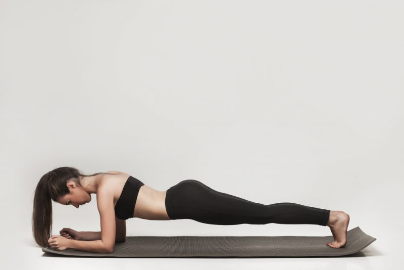 Lifting Up To Plank Pose