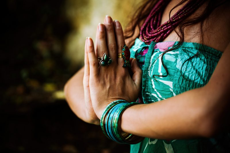 Namaste The Gesture
