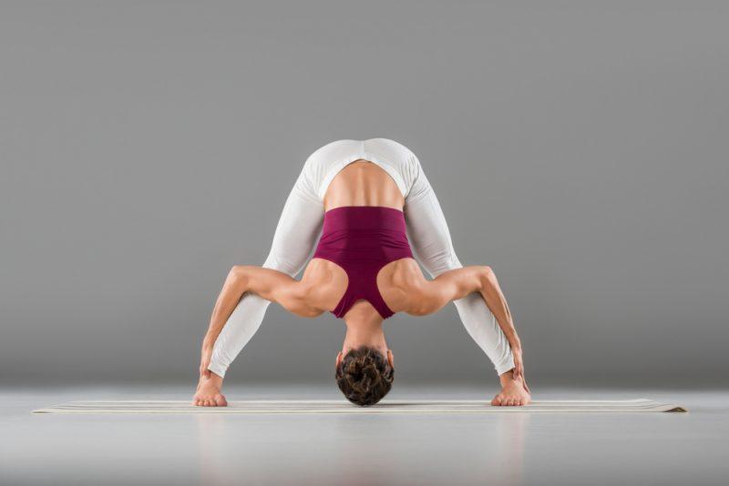 Prasarita Padottanasana — Wide-Legged Standing Forward Fold Pose